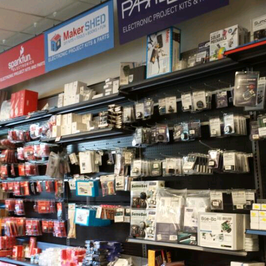 micro center is starting to look like old school radioshack awesome