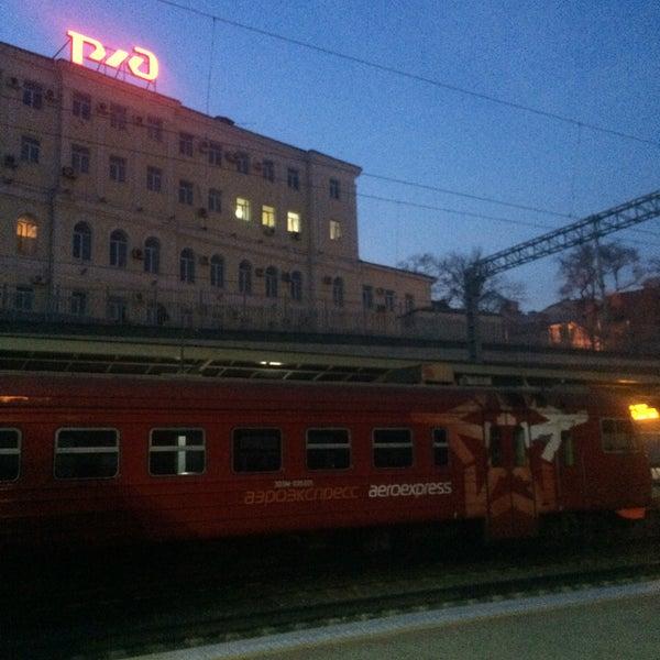 Photo taken at Железнодорожный вокзал Владивостока / Vladivostok Railway Station by Александра Л. on 4/15/2015