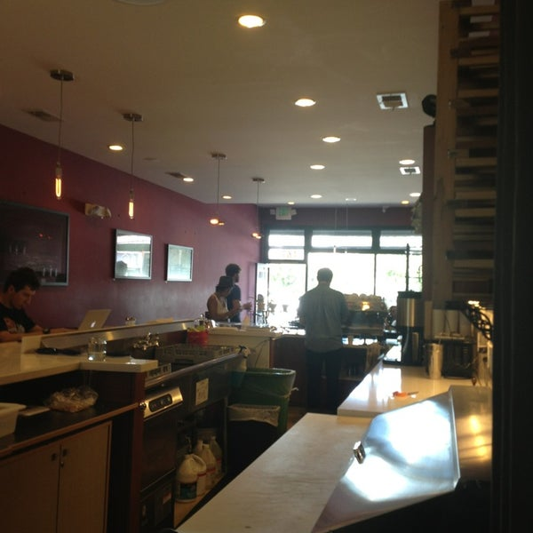 Photo taken at Stanza Coffee Bar by Charles Z. on 7/4/2013