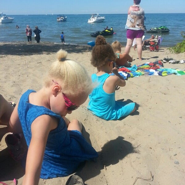 Photo taken at Durand Eastman Beach by Robert H. on 6/22/2014