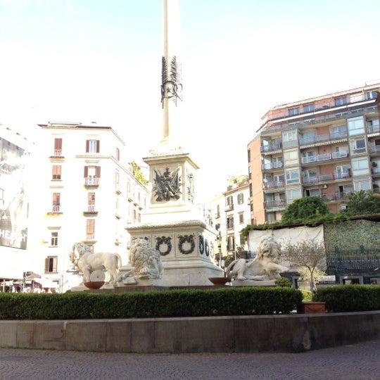 Photo taken at Piazza dei Martiri by Philipp L. on 10/10/2012