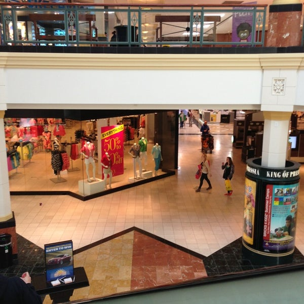 Photo taken at King of Prussia Mall by Ernie F. on 4/3/2013