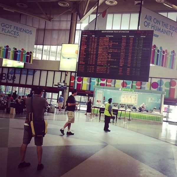 Photo taken at South Station Terminal (MBTA / Amtrak) by Mark U. on 6/23/2013