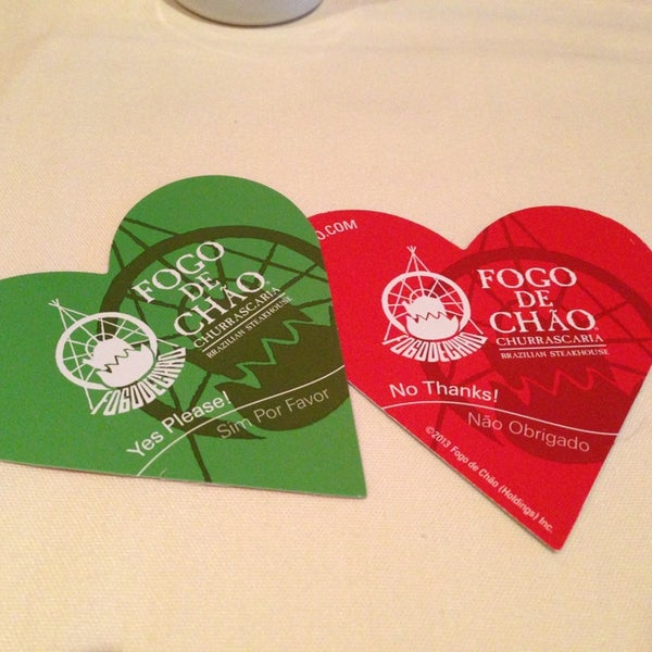 Photo taken at Fogo de Chao Brazilian Steakhouse by Megan D. on 2/17/2013