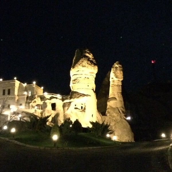 7/24/2014 tarihinde Bülentziyaretçi tarafından Sos Cave Hotel'de çekilen fotoğraf