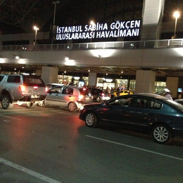 Photo taken at Istanbul Sabiha Gökçen International Airport (SAW) by Fatih K. on 6/21/2013