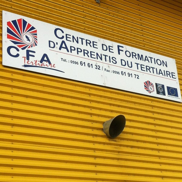 Centre de formation des apprentis cfa chambre de for Chambre de commerce martinique