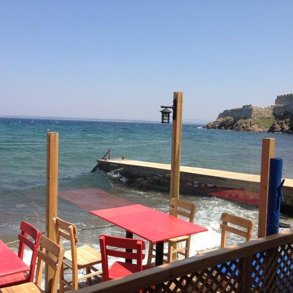 Photo taken at Cabalı Meyhane by Volkan Y. on 8/14/2013