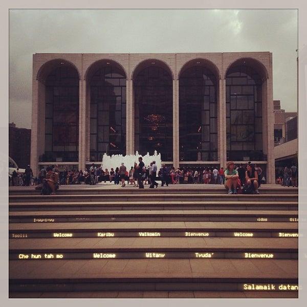 7/13/2013にElif B.がLincoln Center for the Performing Artsで撮った写真