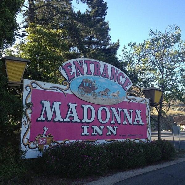Photo taken at Madonna Inn by Nathan H. on 4/18/2013