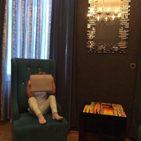 Das Foto wurde bei Hotel Urania von Lydmila am 4/27/2014 aufgenommen