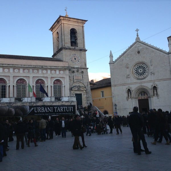 Photo taken at Norcia by Nicola B. on 3/29/2013