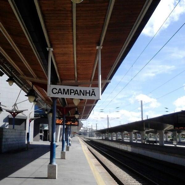 Photo taken at Estação Ferroviária de Porto-Campanhã by Claudio S. on 6/18/2013