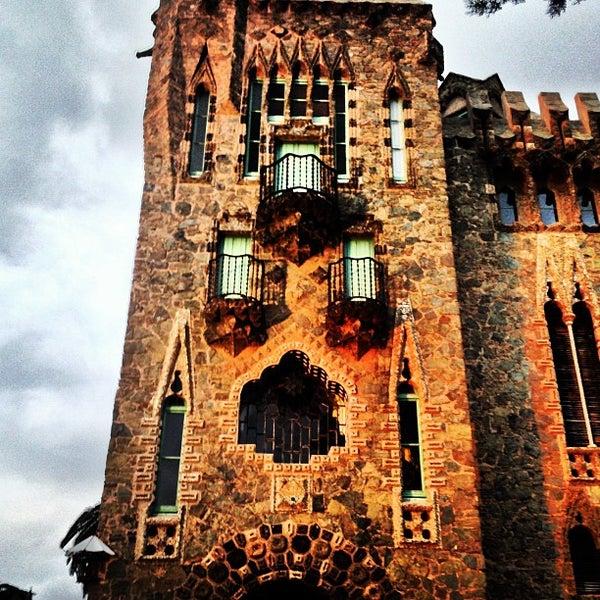 Foto tomada en Torre Bellesguard por Xavier Trias el 9/17/2013