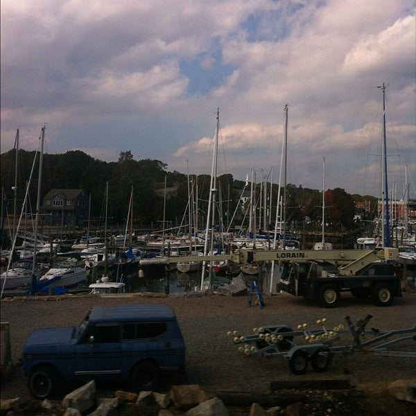 Photo taken at Mystic, CT by Chrysanthe T. on 9/27/2012