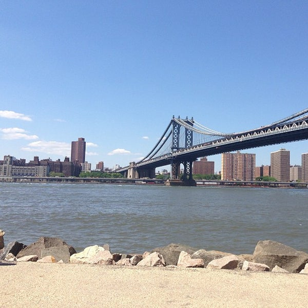Photo taken at Brooklyn Bridge Park by Shannon B. on 6/19/2013