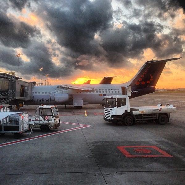 Снимок сделан в Брюссельский аэропорт (BRU) пользователем Martin G. 10/27/2013