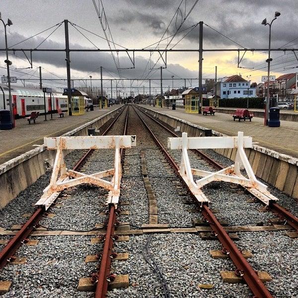 Photo taken at Station Blankenberge by Martin G. on 12/23/2013
