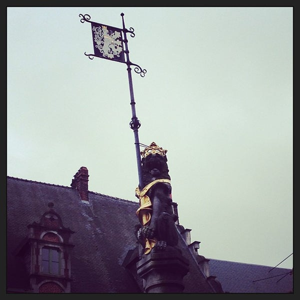 Photo taken at Castle of the Counts by Martin G. on 12/21/2012