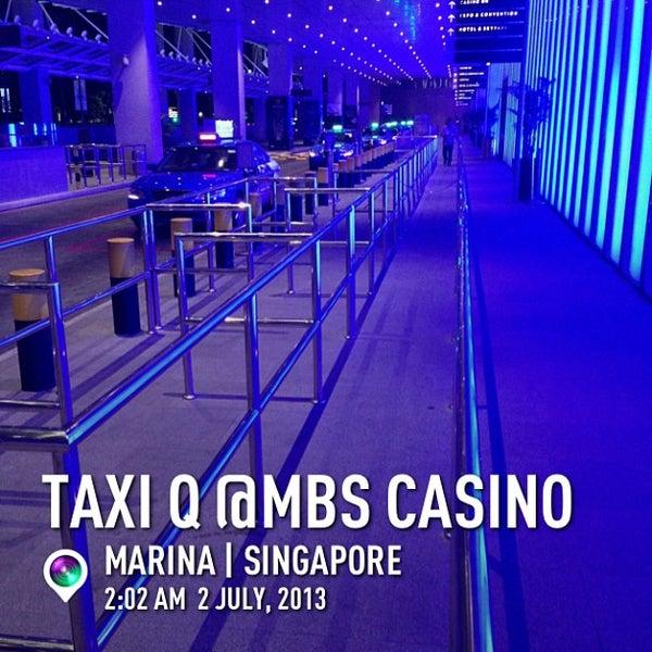 Photo taken at Marina Bay Sands Casino by Kazuhiro C. on 7/1/2013