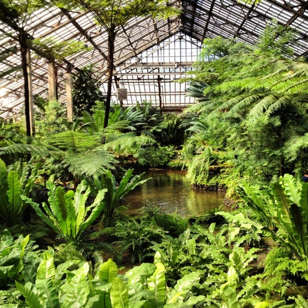 Photo taken at Garfield Park Conservatory by Kat M. on 3/13/2013