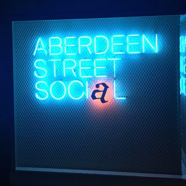 Photo taken at Aberdeen Street Social by 魁偲 闵. on 5/28/2017