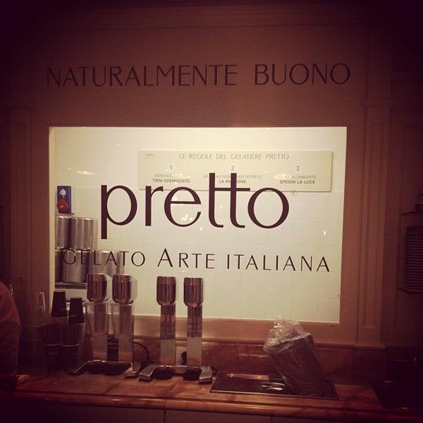 Foto scattata a Pretto Gelato Arte Italiana da Notas de Sabor (. il 9/24/2013
