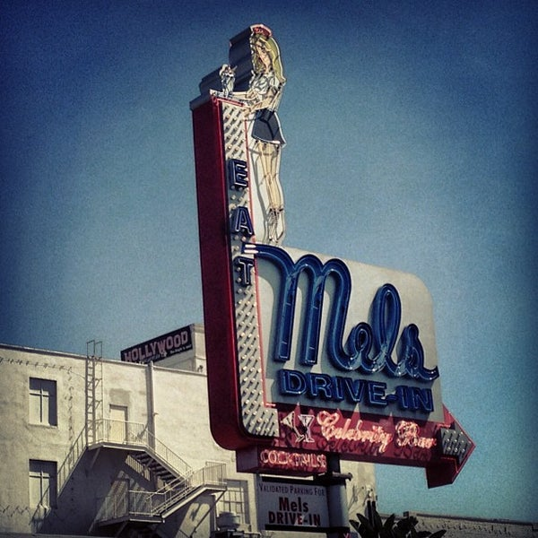 Photo taken at Mel's Drive-In by Vicente R. on 5/6/2013