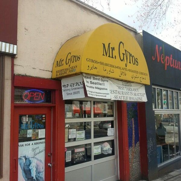 Mr Gyros Food Truck Seattle
