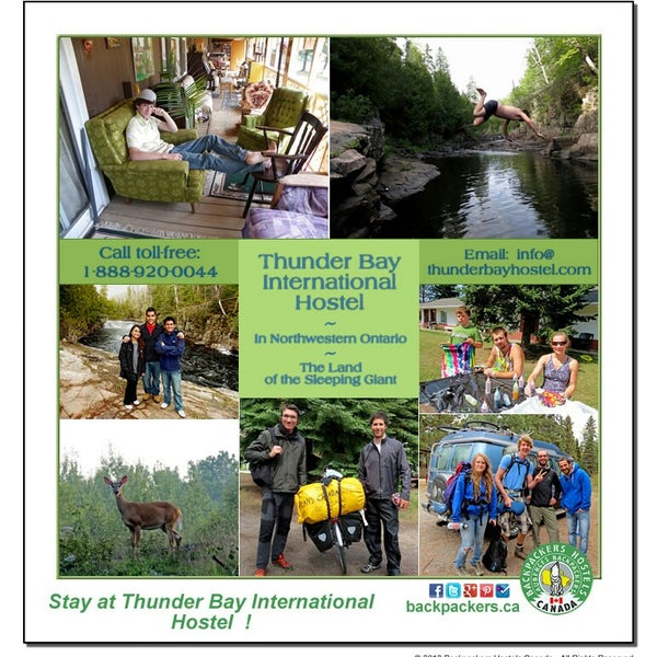 Places Of Worship Thunder Bay: Thunder Bay International Hostel