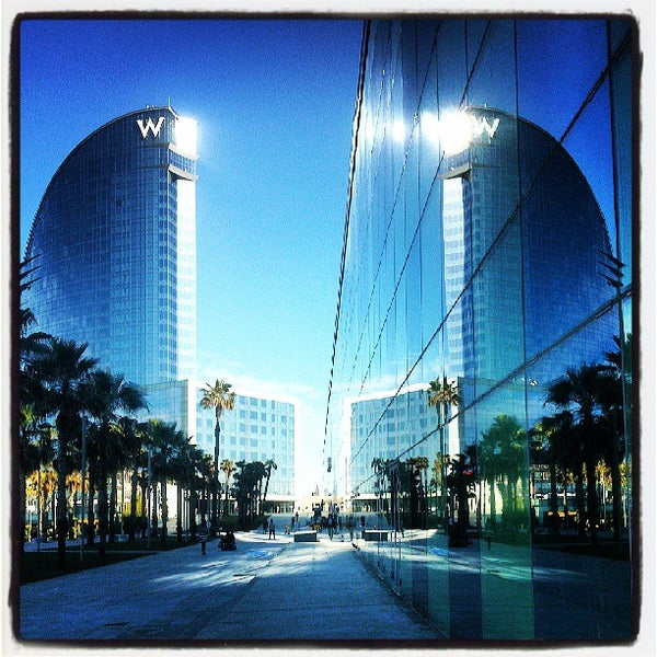Photo taken at W Barcelona by Eva P. on 6/19/2013