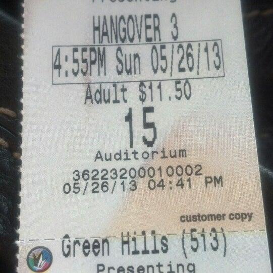 Photo taken at Regal Cinemas Green Hills 16 by Tara B. on 5/27/2013