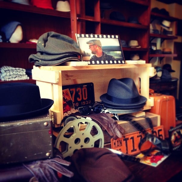 Photo taken at Goorin Bros. Hat Shop by Kenny L. on 3/16/2014