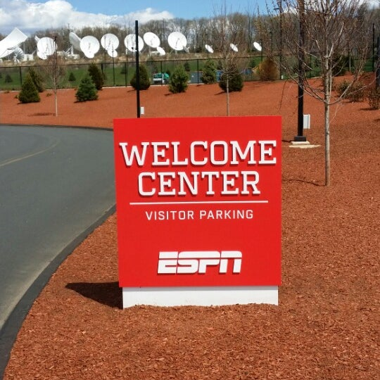 Photo taken at ESPN by Robstar G. on 5/4/2014