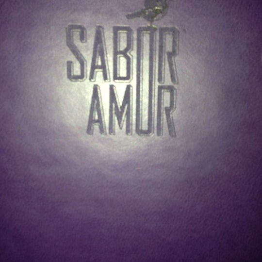 Photo taken at Sabor Amor by Lorena M. on 11/24/2012