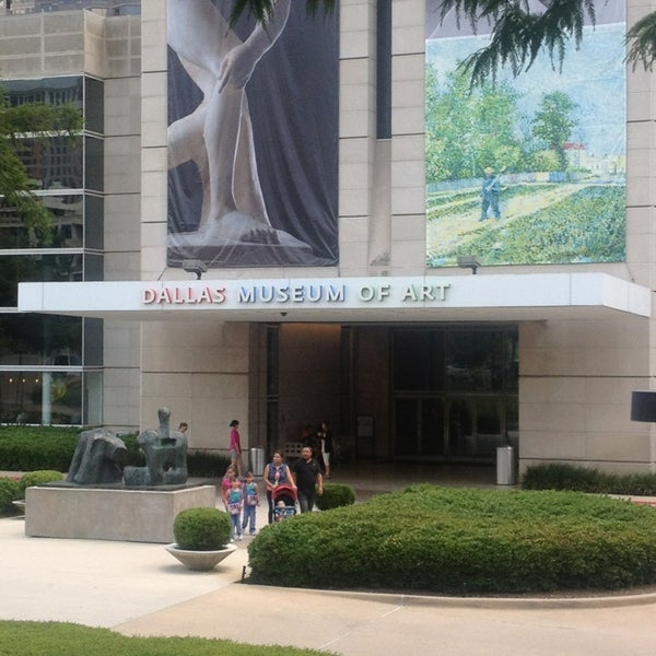 Photo taken at Dallas Museum of Art by Dany C. on 8/4/2013