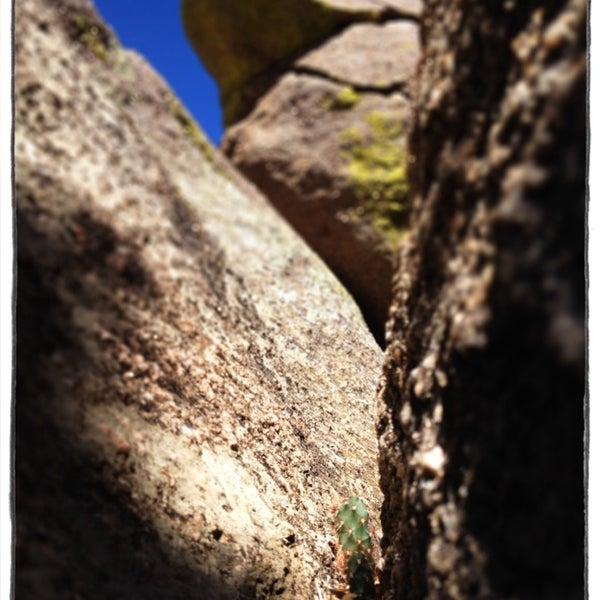 Photo taken at La Luz Trailhead by Rickbischoff on 10/4/2013