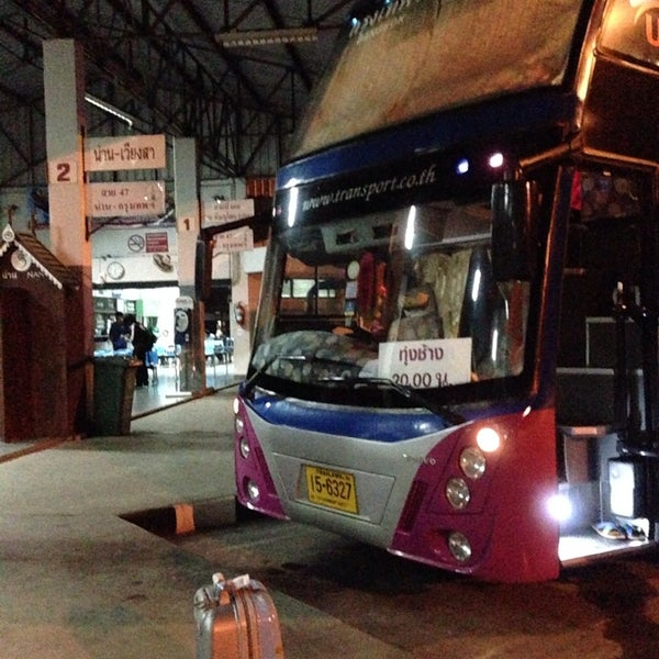 Although reaching the bus station early at 6AM, there are several Song-Taw Pickup as the  local service in the City. For 1.5 km driving, it costed me 30 Baht/head.