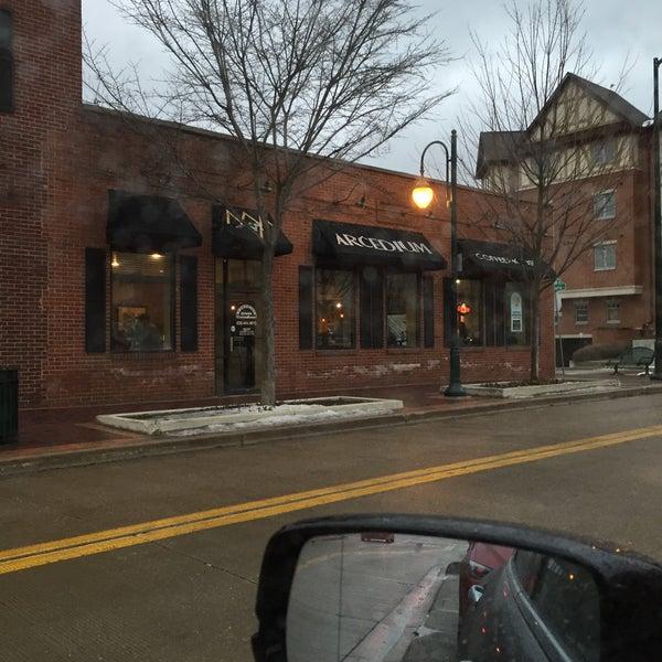 Photo taken at Arcedium Coffeehouse Inc by Mark F. on 1/28/2016