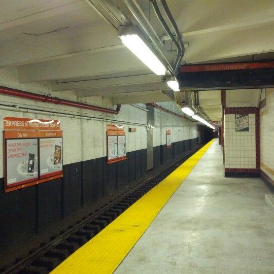 Photo taken at SEPTA MFL/TRL 15th Street Station by Jinni on 1/21/2013