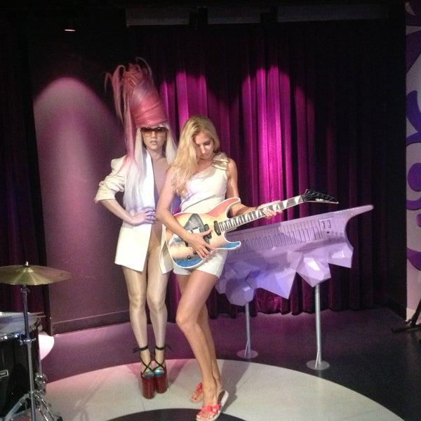 Photo taken at Madame Tussauds by Kristina F. on 7/17/2013