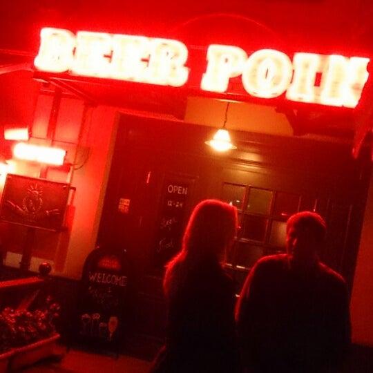Снимок сделан в Beer Point пользователем Michael M. 11/8/2013
