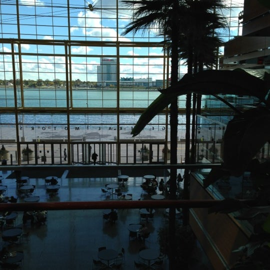 Photo taken at Ren Cen 4 by Liz T. on 10/12/2012