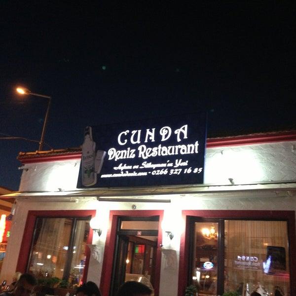 7/21/2013 tarihinde Kerem D.ziyaretçi tarafından Cunda Deniz Restaurant'de çekilen fotoğraf