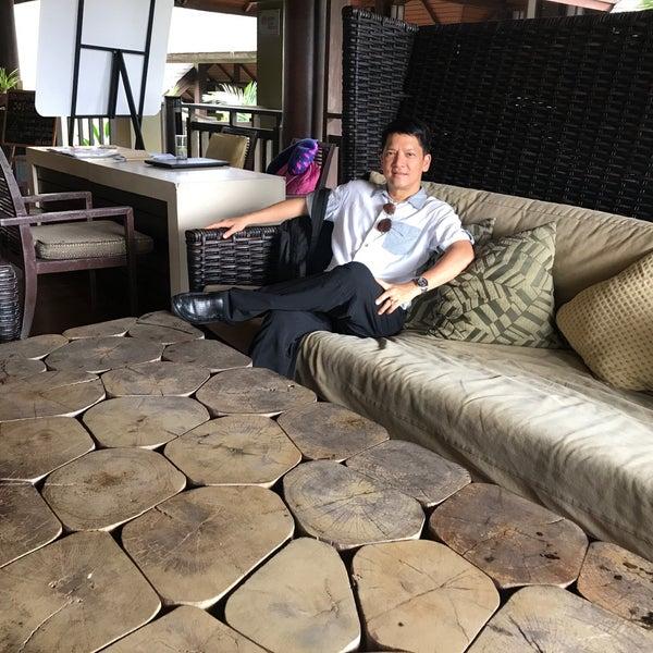 Photo taken at Anantara Si Kao Resort And Spa by Jittanart P. on 8/13/2017