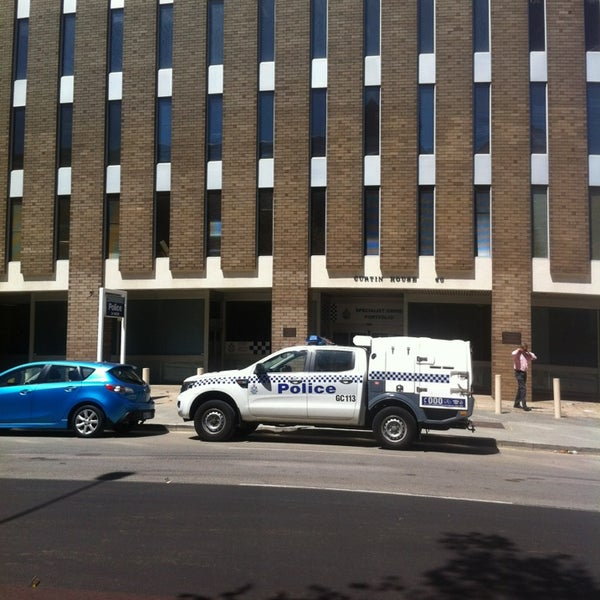 Police Headquarters, Curtin House