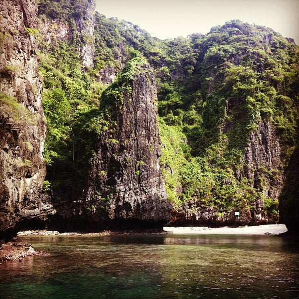 Photo taken at Phi Phi Island by Roch on 12/18/2012