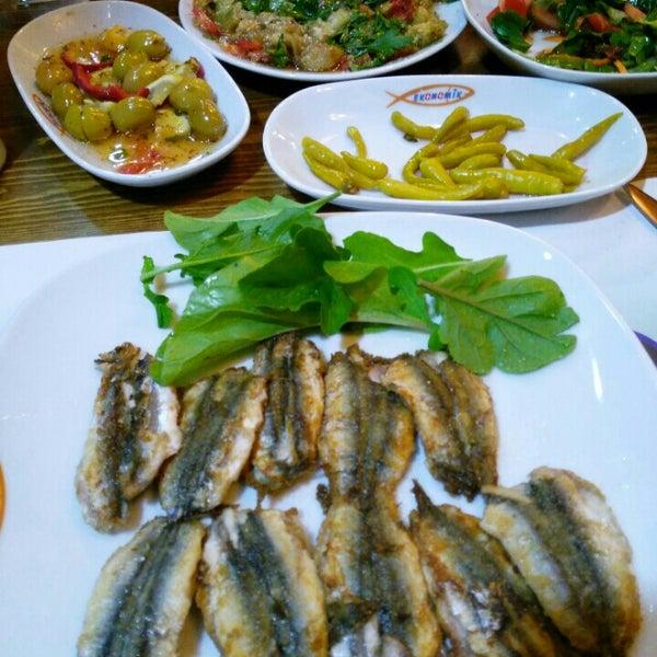 9/6/2015 tarihinde Uğur S.ziyaretçi tarafından Ekonomik Balık Restaurant Avanos'de çekilen fotoğraf