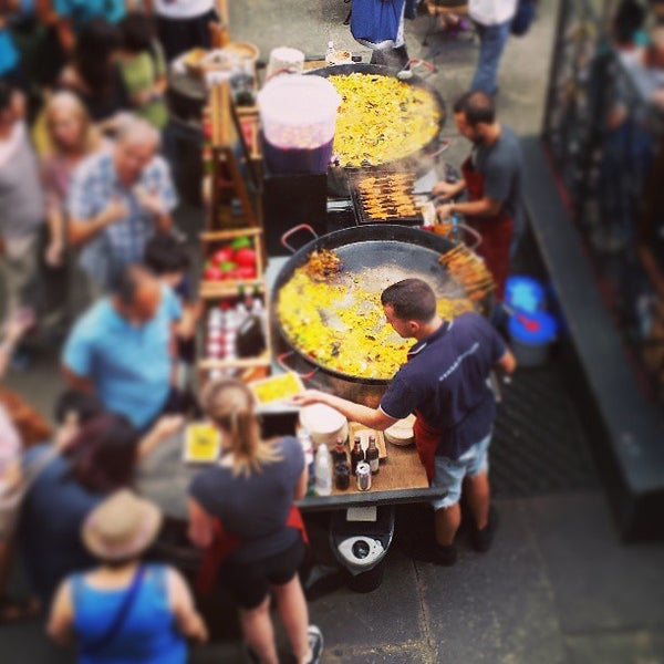Photo taken at Covent Garden Market by Gavin Y. on 7/20/2013