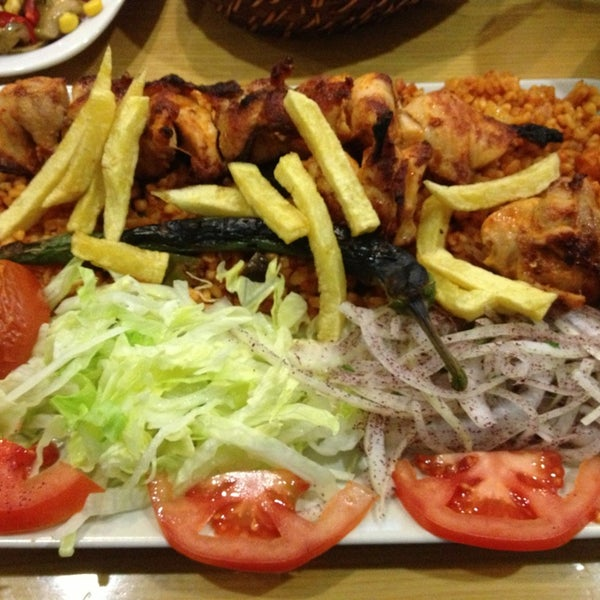 Photo taken at Damalı Restaurant by Umut E. on 3/29/2013